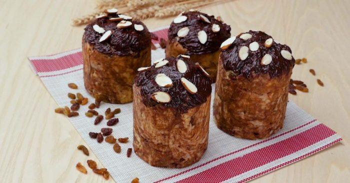Шоколадный кулич. \ Фото: google.ru.
