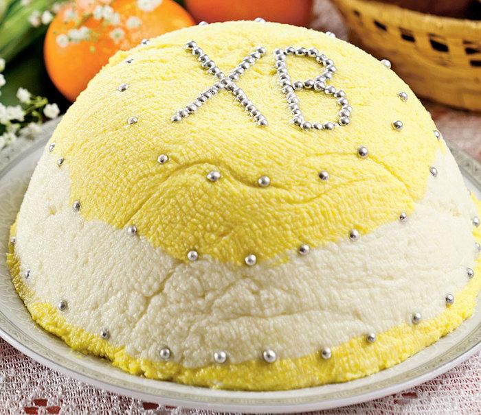 Творожно-тыквенная пасха. \ Фото: google.ru.