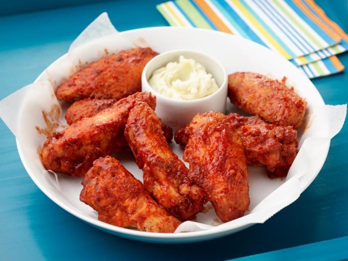 Вкусные куриные крылья. \ Фото: twitter.com.