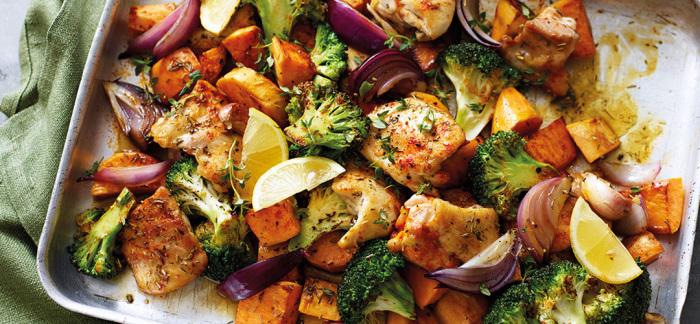 Курочка с овощами. \ Фото: google.com.ua.
