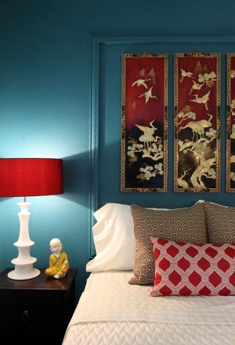 Яркие лампы - прекрасный элемент декора. Главное не переусердствуйте с эксцентричностью.