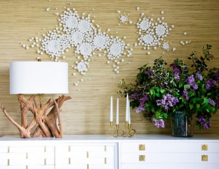 Такой актуальный нынче эко-стиль отразился и на дизайне настольных ламп.