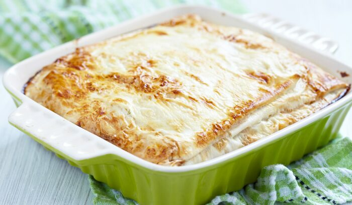 Куриный пирог из лаваша. \ Фото: receptnajedlo.sk.