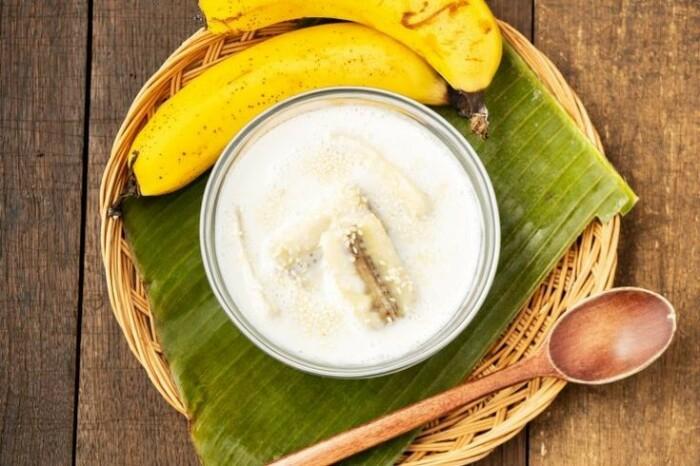 Тайский банановый десерт. \ Фото: asianinspirations.com.au.