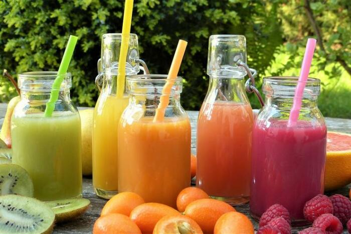 Свежевыжатый сок. \ Фото: foodandmood.com.ua.