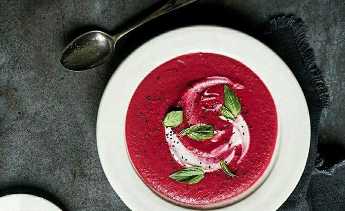 Суп из малины. \ Фото: google.com.ua.