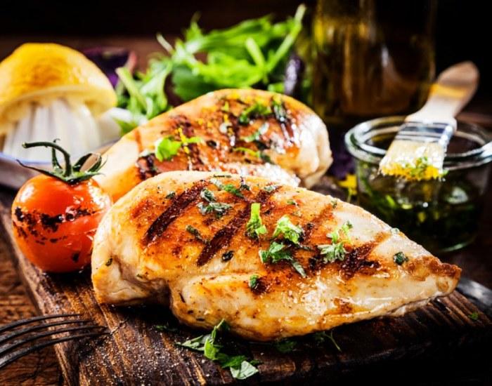 Куриное филе в мандариновой глазури. \ Фото: chefmarket.ru.