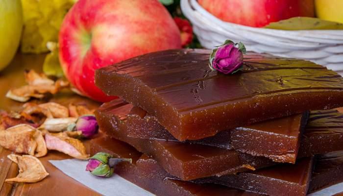 Домашний мармелад из яблок и груш. \ Фото: desertikdoma.ru.