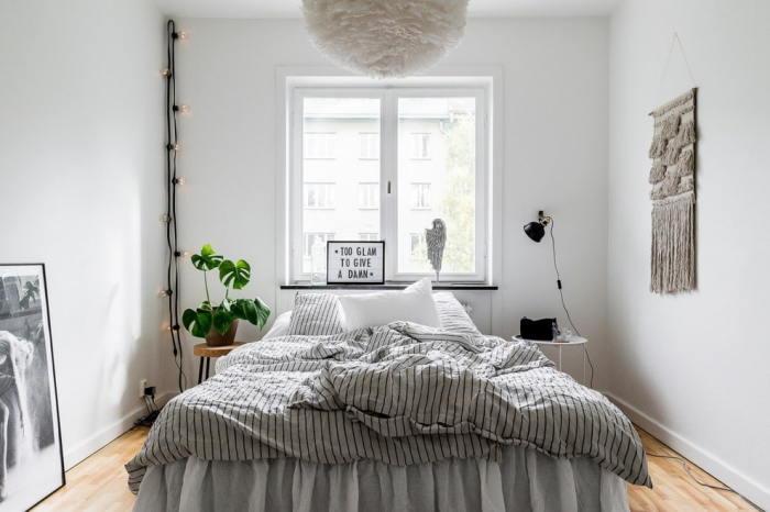 Не стоит ставить кровать у окна. \ Фото: design-homes.ru.