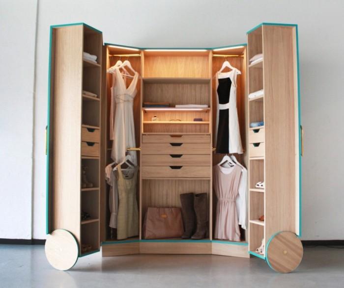 Шкаф-трансформер для одежды и вещей.