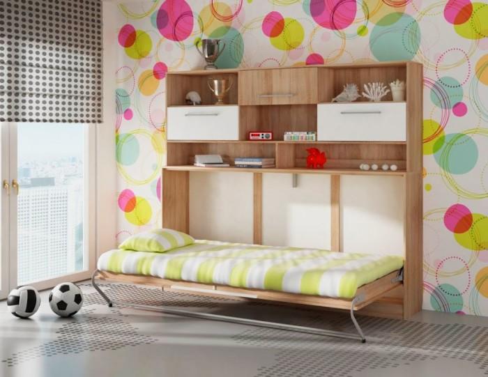 Кровать-трансформер - идеальный вариант для детской комнаты.
