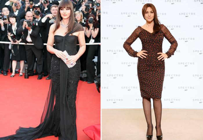 Слева: 2006 год. \ Справа: 2014 год.