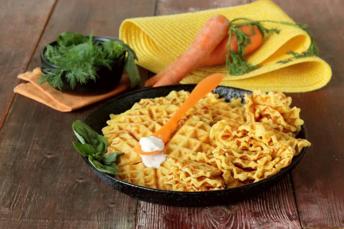 Вафли из моркови. \ Фото: google.com.