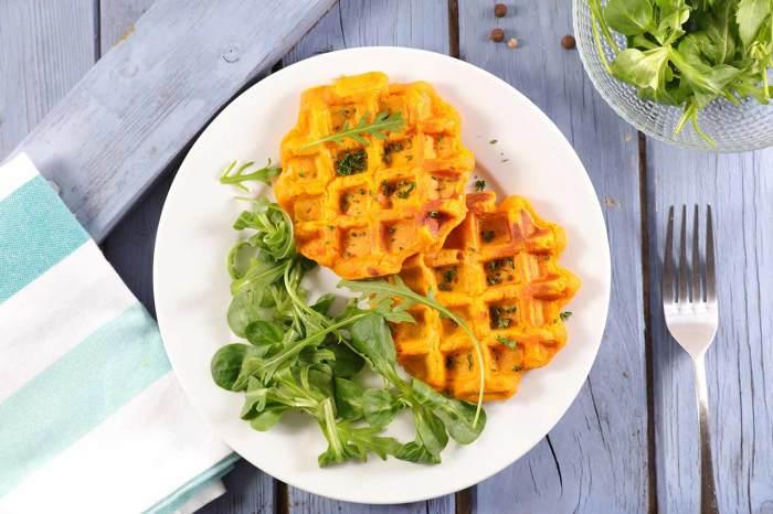 Морковные вафли. \ Фото: cookpad.com.
