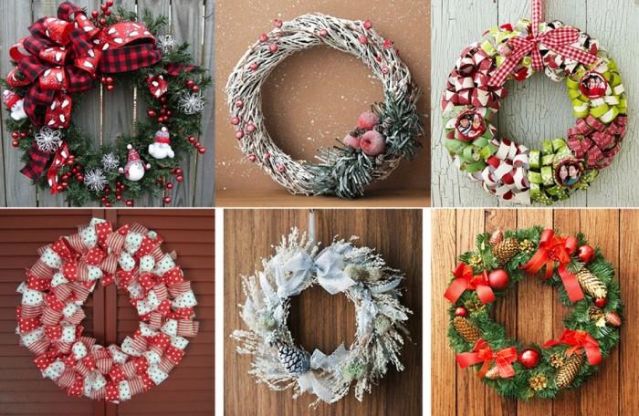 Прекрасным украшением станут праздничные веночки.