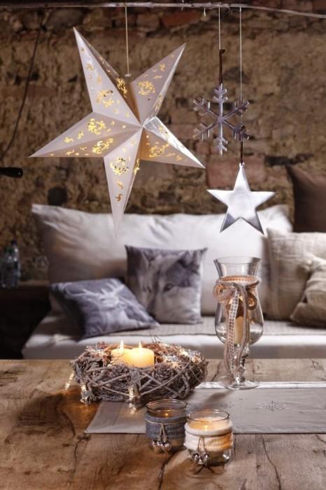 Украшение дома к новому году – самый простой способ внести праздничную атмосферу.