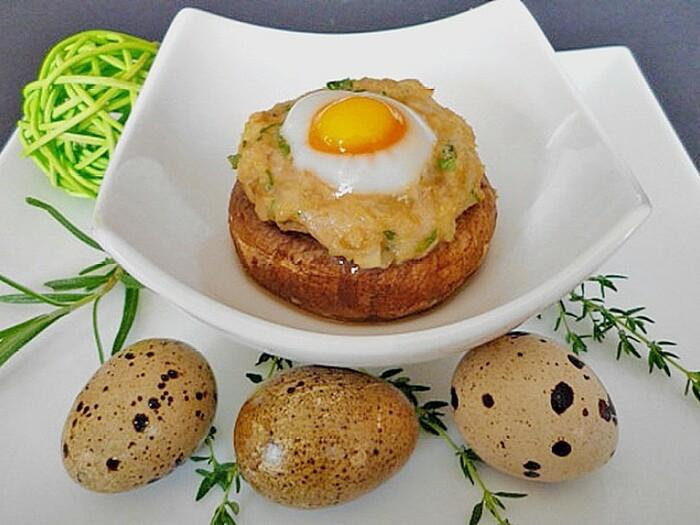 Фаршированные грибы. \ Фото: chefkoch.de.