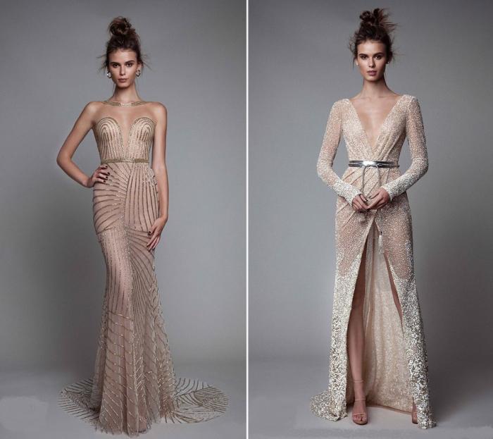 Элегантные платья в пол.