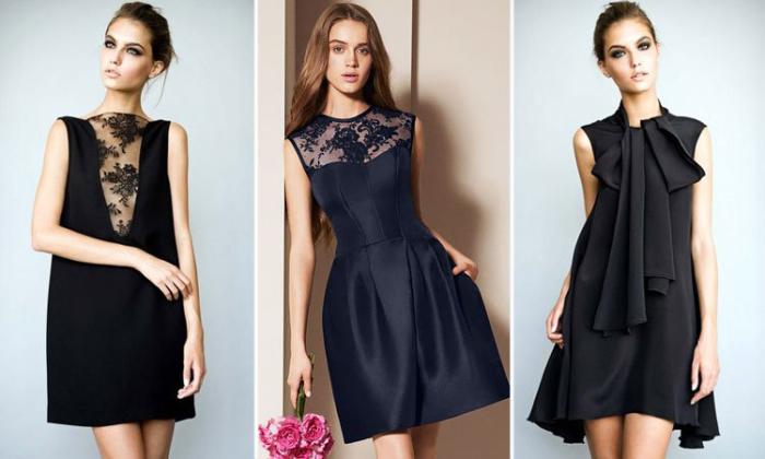 Изысканные чёрные платья. \ Фото: hotline.ua.