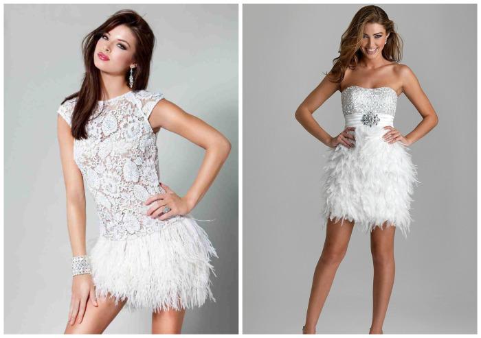 Белые платья. \ Фото: bestcube.space.