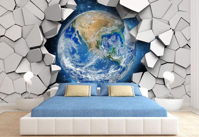 3D обои планета Земля.