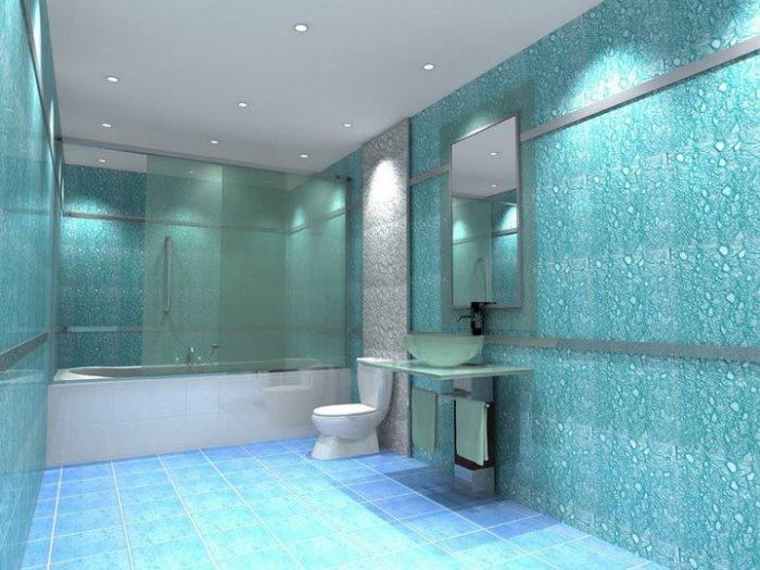 Современный дизайн ванной.