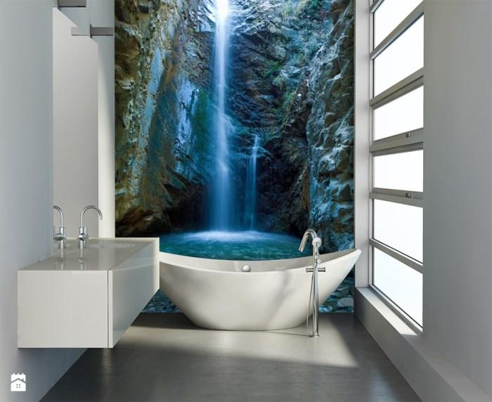 Фотообои с изображением водопада.