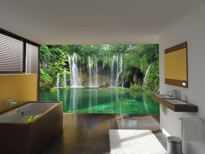 Оазис красоты в ванной комнате.
