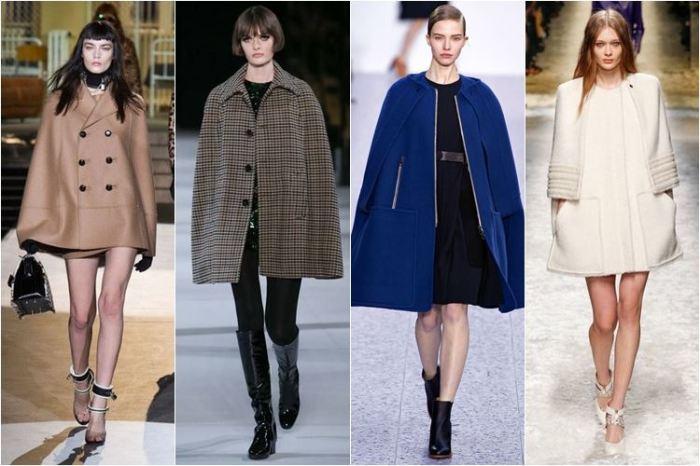 Пальто, которые не стоит покупать девушкам с обычной фигурой. \ Фото: fashiongu.ru.
