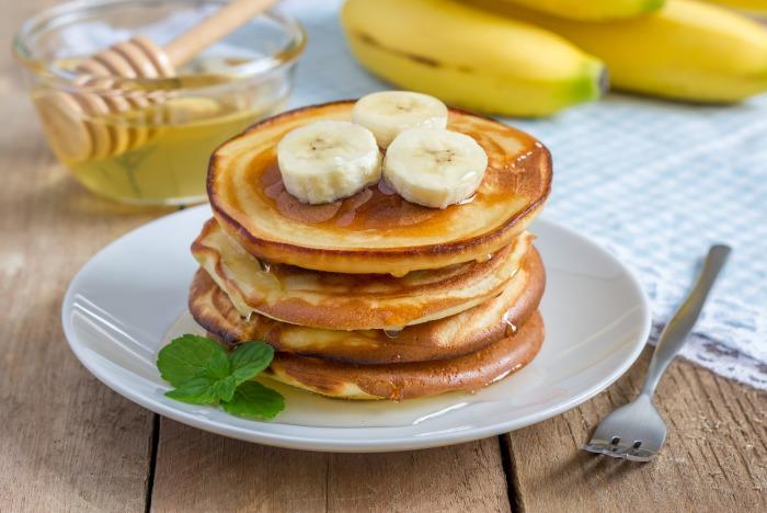 Оладьи из бананов. \ Фото: pancakemasters.com.