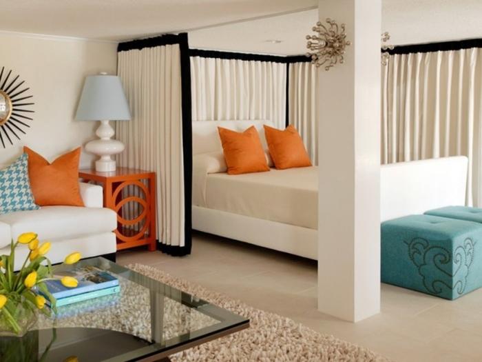 Практичный и современный дизайн однокомнатной квартиры.