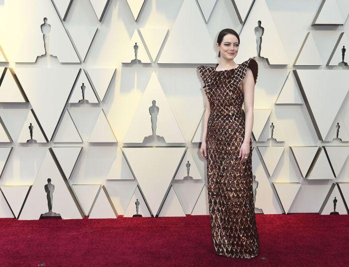 Эмма в платье от Louis Vuitton. \ Фото: google.ru.