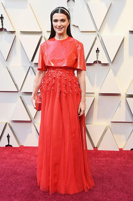 Рэйчел Вайс в платье Givenchy. \ Фото: clutch.ua.