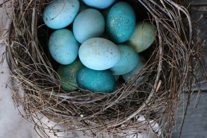Пасхальные яйца. \ Фото: honestlyyum.com.