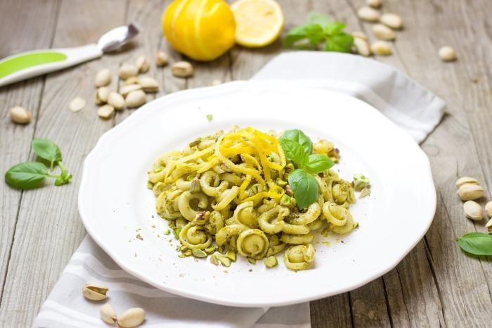 Макароны с лимонным соусом. \ Фото: pixabay.com.