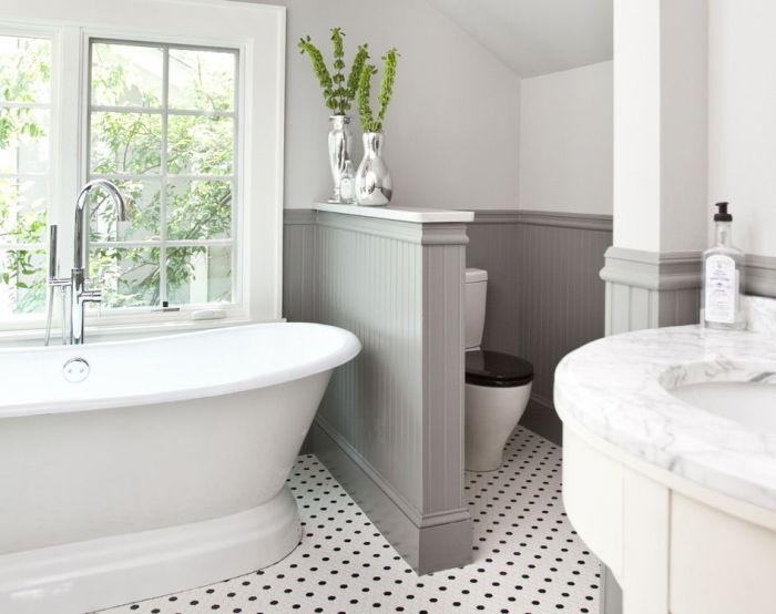 Зонирование ванной комнаты.