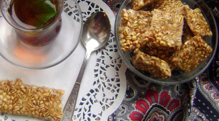 Очень вкусная и простая сладость из перловки. \ Фото: gastronom.ru.