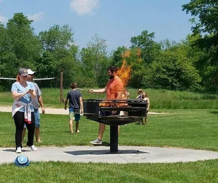 Почти Голодные игры: И вспыхнет пламя. \ Фото: inet.detik.com.