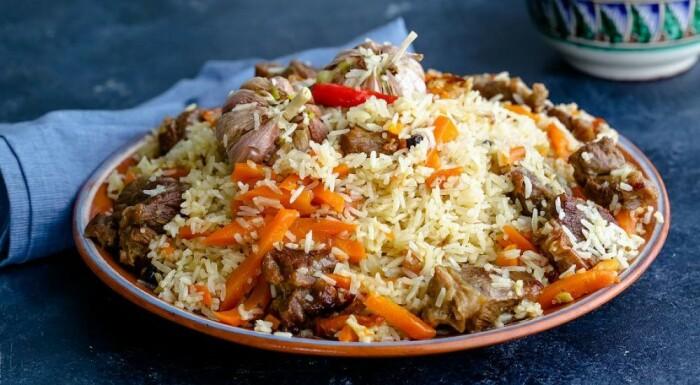 Плов по-таджикски. \ Фото: google.com.