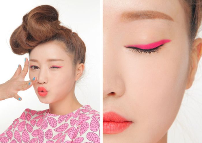 Розовые стрелки. \ Фото: pinimg.com.