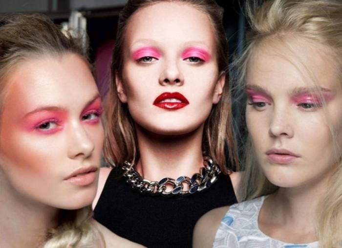 Макияж глаз в розовых тонах. \ Фото: news.myseldon.com.