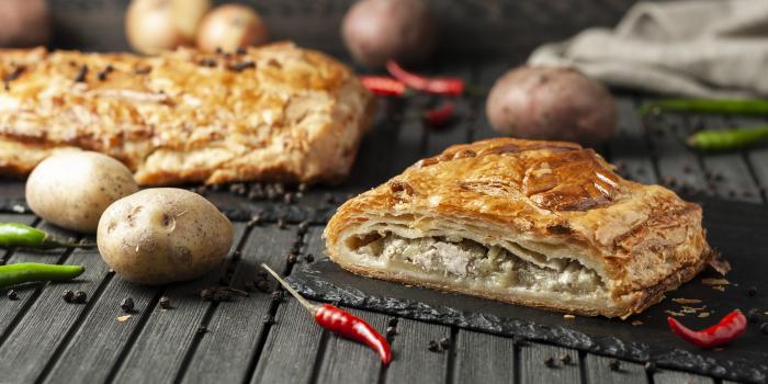 Сытный польский пирог. \ Фото: sweetvillage.ru.