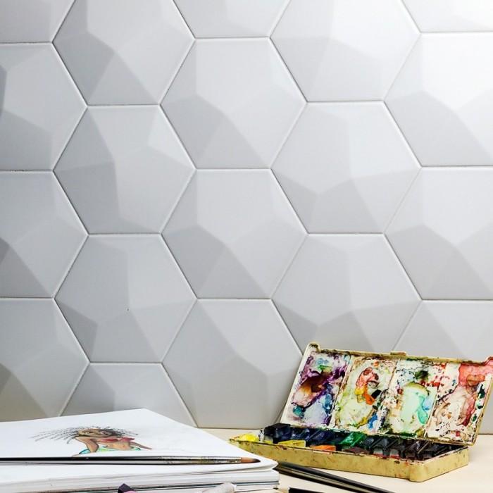 Недавно производителями плитки был предложен новый дизайн с эффектом 3D, который настойчиво пытается завоевать сердца потребителей.