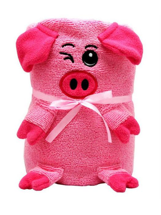 Трансформер полотенце-игрушка станет замечательным подарком для мамы и малыша.