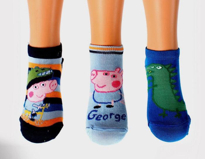 Забавные носочки Свинка Пеппа.