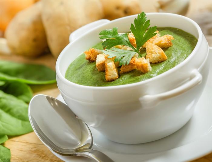 Постный суп-пюре с брокколи. \ Фото: friendcook.ru.