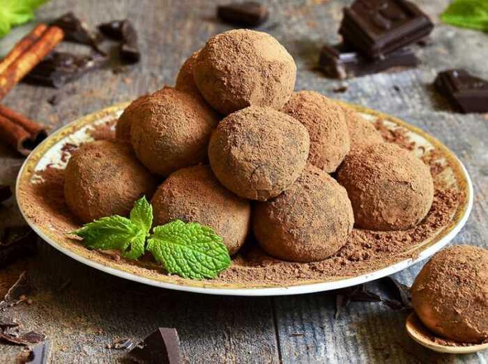 Пирожное картошка из творога. \ Фото: google.com.ua.