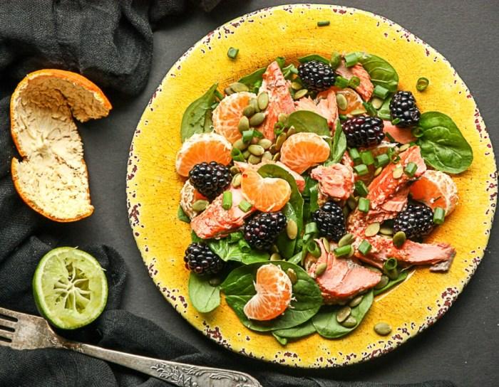 Лёгкий, сытный и невероятно красивый салат.