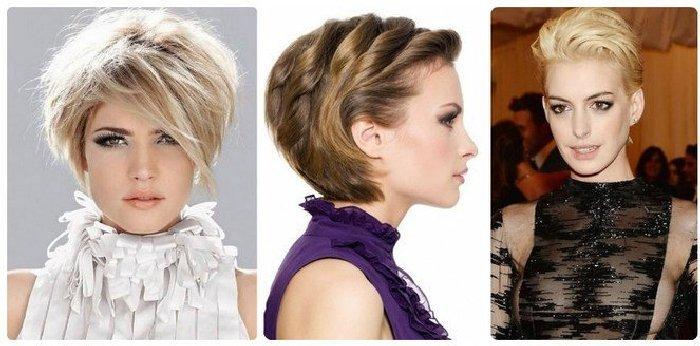Причёски для девушек с короткими волосами. \ Фото: google.ru.