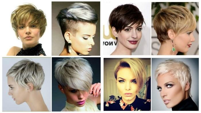 Идеи причёсок с короткими волосами. \ Фото: mana.su.